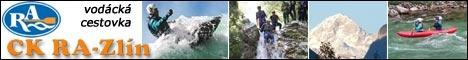CK RA - Zlín, s.r.o. vodácké zájezdy, kajakové školy, canyoning, rafting a turistika